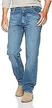 Wrangler Authentics Men's Classic 5-Pocket Regular Fit Jean, Vintage Blue Flex, 34W x 28L