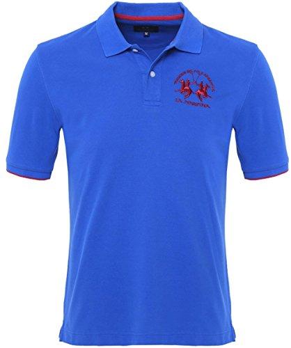 La Martina einfaches Polo Shirt Blau XL