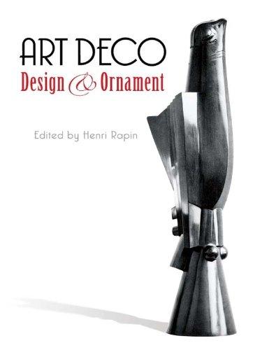 Art Deco Design and Ornament (Dover Pictorial Archive) (English Edition)
