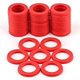 LUTER 40Pcs Garden Hose Washers Rubber Washers Seals RingHeavy Duty Hose Gasket Fit