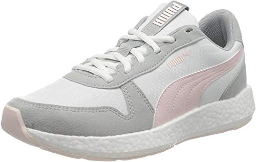PUMA Damen NRGY Neko Retro WNS Sneaker, White-High Rise-Rosewater, 42 EU