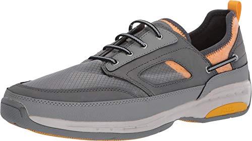 Dunham Men's Captain Sport Boat Shoe, Grey