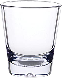 Carlisle 560107 Alibi Heavy-Weight Plastic Shot Glass, 1.5 oz (Case of 24)