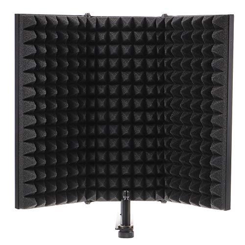 EXCEART Soporte de Aislamiento de Micrófono Equipo de Grabación de Estudio Profesional...