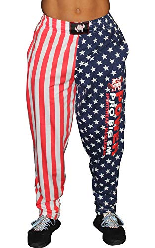 BIG SM EXTREME SPORTSWEAR Sporthose Jogginghose Trainingshose Bodyhose USA Amerika 1167 rot L