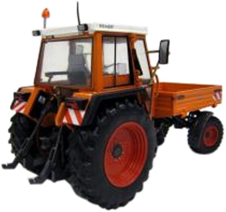WeiseToys 1104 Fendt Device Carrier 360 GT Kommunal (Version 19841996) (2011) Tractor Model, Multicolor