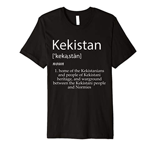 Kekistan Definition T-Shirt - Protect The Holy Lands