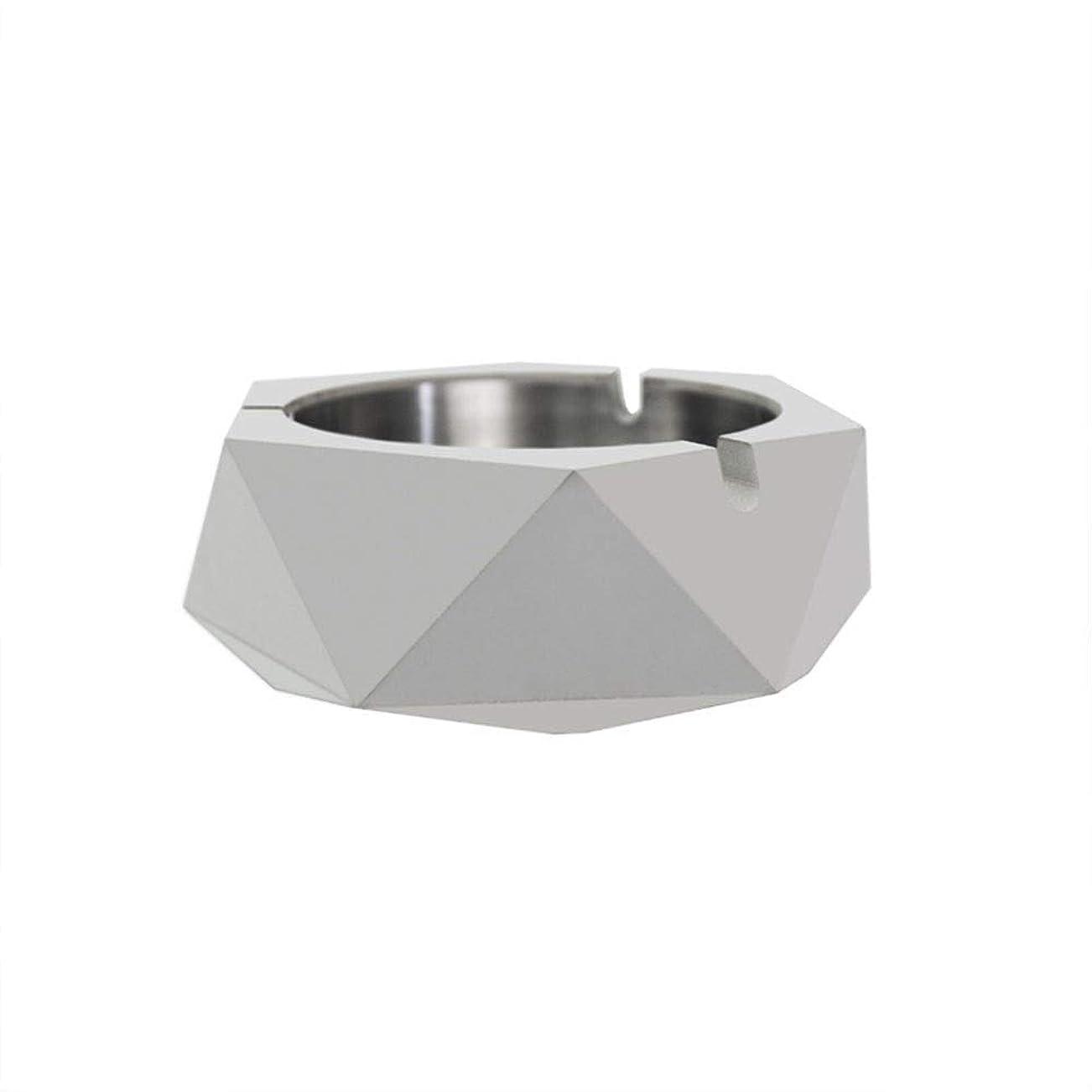 提出するキャップ動ダイヤモンド型シリコーン型石膏セメントDIY灰皿ローソク足、セメントクリエイティブ灰皿、セメントクリエイティブ灰皿増加 (色 : A)