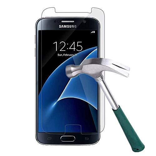 WHJC [3 Stück] Galaxy S7 Schutzfolie Panzerglas Display, 9H Härte,HD Anti-Öl,Kratzer, Blasen und Fingerabdruck,Einfaches Anbringen,Panzerglasfolie Displayschutzfolie für Samsung Galaxy S7