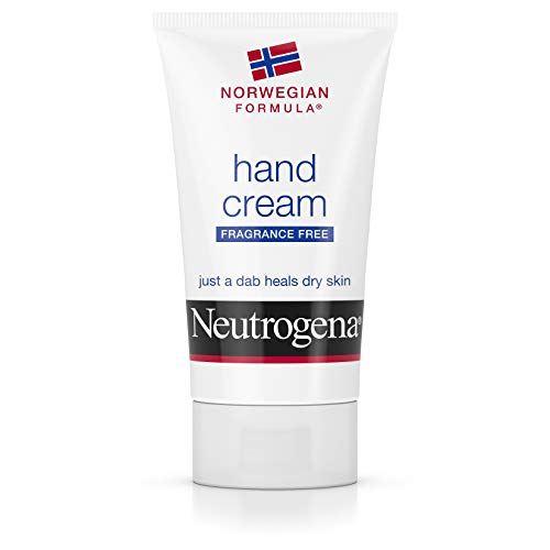 Neutrogena Norwegian Formula Moisturizing Hand Cream Formulated with Glycerin for Dry, Rough Hands, Fragrance-Free Intensive Hand Lotion, 2 oz (Pack of 6)