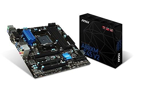 MSI Computer Micro ATX DDR3 1333 Motherboards A88XM-E45 V2