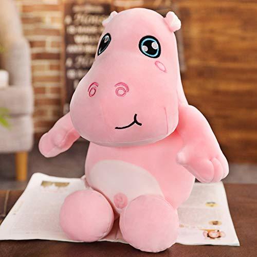 WPYLY Lindo hipopótamo muñeco de Peluche de Juguete muñeca Grande muñeca niños Regalo de cumpleaños muñeca de Tela 105cm A