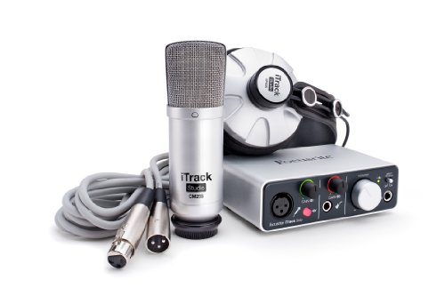 Focusrite iTrack Studio Complete Recording Package for iPad, Mac and PC