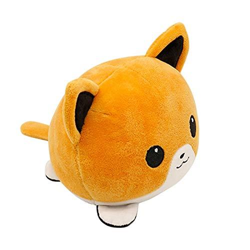 Sweetwu - Peluche a forma di animali di gatto, con motivo a cartoni animati e animali di peluche, per bambine, giocattoli di peluche per bambini, giocattoli di peluche per cani
