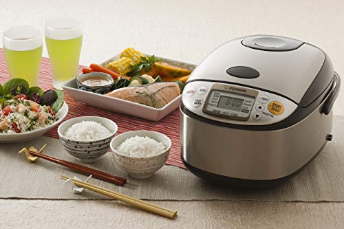 Product Image 5: Zojirushi NS-TSC10 5-1/2-Cup (Uncooked) Micom Rice Cooker and Warmer, 1.0-Liter