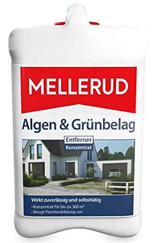 MELLERUD Algen & Grünbelag Entferner 2,5 Liter Konzentrat für bis zu 500 m² (1 Stück)