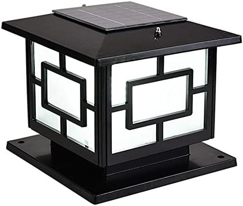 UimimiU Outdoor Waterproof Financial sales sale Column Light LED Lantern Pillar lowest price Solar