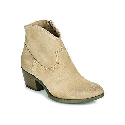 Mjus Dal Color Stiefelletten/Boots Damen Beige - 39 - Low Boots Shoes