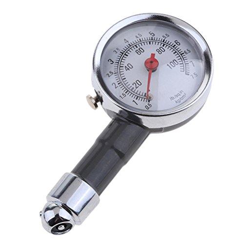Tragbare Luftdruckprüfer Reifendruck Manometer Reifen Luftdruckmesser Reifendruckmesser Messgerät