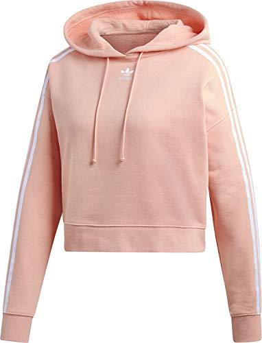 adidas DX2161 Originals Cropped Hoodie Pink|40