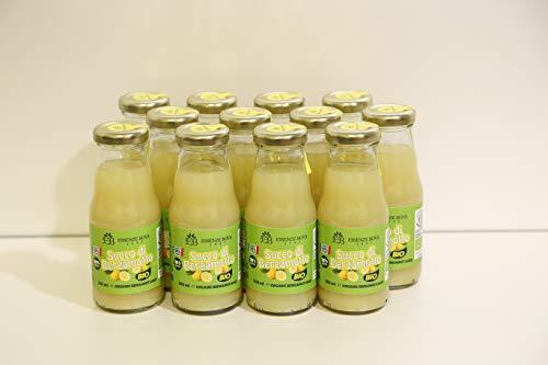 Succo di Bergamotto Bova BIO puro 100% 20 cl (12 Bottiglie)