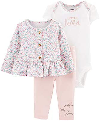 Carter s 3 Piece Little Cardigan Set Little and Loved Pink 6 Months product image