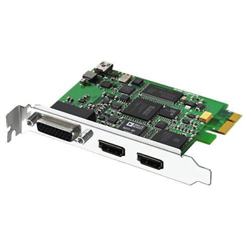 Blackmagic Design Intensity Pro HDMi, Pci Express Videoaufnahmekarte in Full HD mit HDMI 1080 und analogen Ausgängen und Komponenten, verwendbar durch Adobe Ed Avid