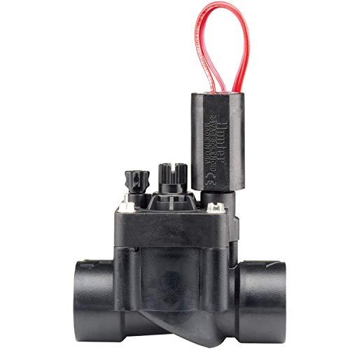 "Best sprinkler valves - Hunter Industries RTL0502PGV101G Hunter 1"" PGV Irrigation Valve, Black,small"