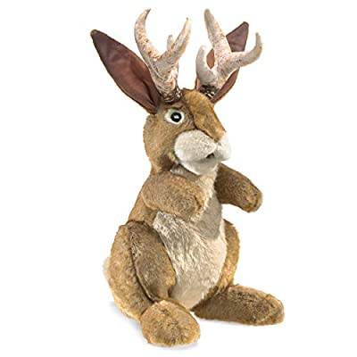 Folkmanis Jackalope Hand Puppet by Folkmanis Puppets