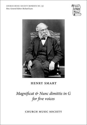 Magnificat and Nunc dimittis in G: for five voices (Church Music Society publications)