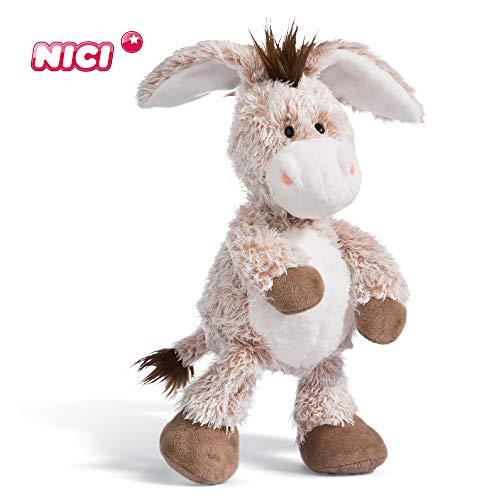 NICI Kuscheltier Esel 50 cm – Esel Plüschtier für Mädchen, Jungen & Babys – Flauschiger Stofftier Esel zum Kuscheln, Spielen und Schlafen – Gemütliches Schmusetier – ab 12 Monaten – 44936