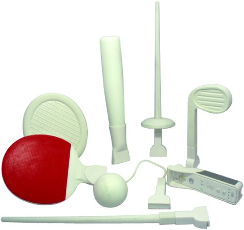 Pair & Go 8-Piece Olympic Soft Sports Pack (Wii) Importa