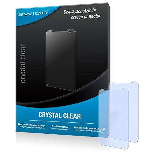 SWIDO Bildschirmschutz für HTC Desire 310 [4 Stück] Kristall-Klar, Hoher Festigkeitgrad, Schutz vor Öl, Staub & Kratzer/Schutzfolie, Bildschirmschutzfolie, Panzerglas Folie