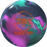 900 Global Zen Master Bowling Ball 14lbs, Megenta/Black/Green