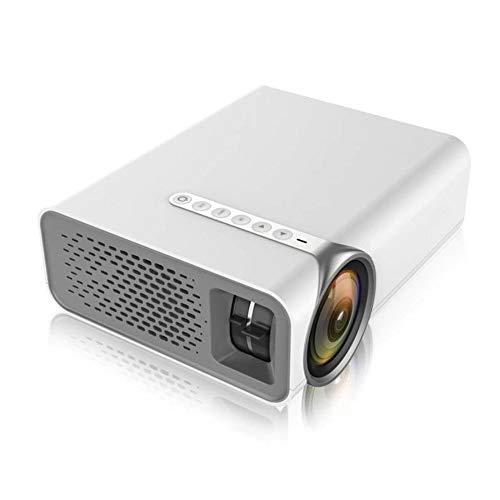 Mini-led-projector, draagbare projector, 1080P HD beamer, 2800 lumen, 2000: 1 contrast, 30.000 uur licht, voor huis en kantoor