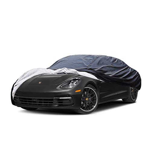 Old street Car Cover Compatible with Porsche 911 Speedster, Custom-Fit Full Body Auto Vehicle Covers, Waterproof Snow Rain UV Sun Dust Protection Fit Coupe Sedan Hatchback Wagon