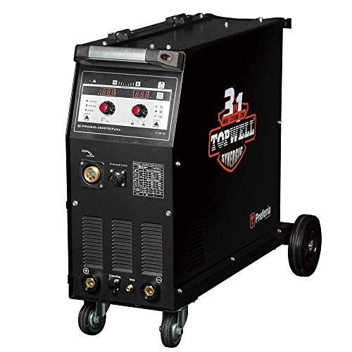 Lowest Prices! Topwell 250A Pulse Mig Welder with Synergic System Aluminum Welding