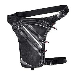 Quiet.T Waterproof leg bag Suitable for travel, sport & all outdoor activities, leg pocket for women and men, leg pocket Waterproof waist packs for running