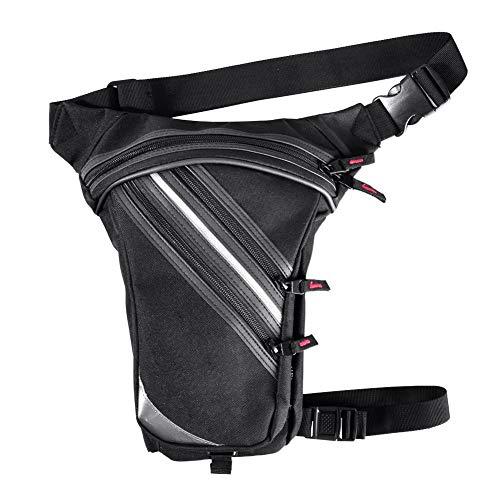 circulor Beintasche Motorrad, 3,5L Motorrad Beintasche Wasserdicht, Motorrad-Beintasche Werkzeugtasche Tasche Für Bein Herren Damen Motorrad Wandern Outdoor