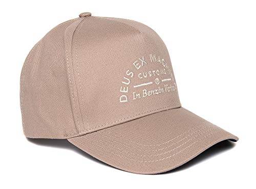 Deus - Gorra de gasolina, color gris