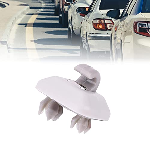 Gancio per parasole interno grigio, gancio per clip per visiera parasole interna per Audi A1 A3 A4 S3 S4 A5 S5 Q3 Q5 TT Quattro 8E0857562A