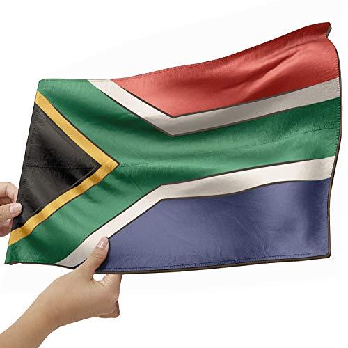 Südafrika Flagge als Lampe aus Holz - schenke deine individuelle Südafrika Fahne - kreativer Dekoartikel aus Echtholz