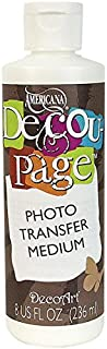 DecoArt Americana Decou-Page Photo Transfer, Medium