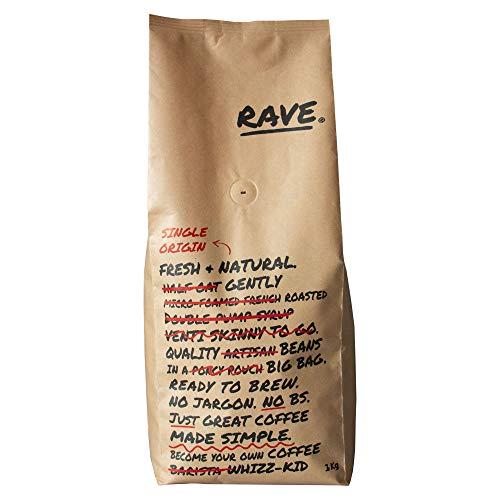 Rave Coffee - Seasonal Decaf - 1kg Fresh Roasted Coffee Beans