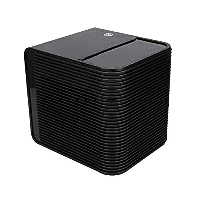 BXzhiri Space Heater, Personal Portable Electric Heaters Fan with Ceramic Heating for Office Table Indoors