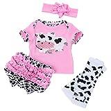 Reborn Doll - Juego de ropa para bebé de 20 a 22 pulgadas, simulación de ropa para muñecas, ropa de muñeca bonita de algodón, accesorio divertido para regalo, fácil de llevar