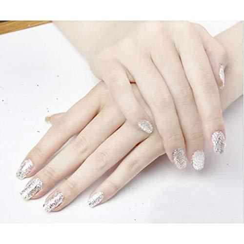 Gaetooely 12 Farben Nagel Kunst Acryl UV Gel zerkleinert Schale glaenzende funkelnde Pulver Flocken Tipps Dekoration