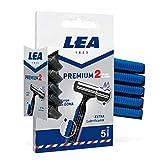 Lea Premium 2 Hojas Cuchillas Desechables