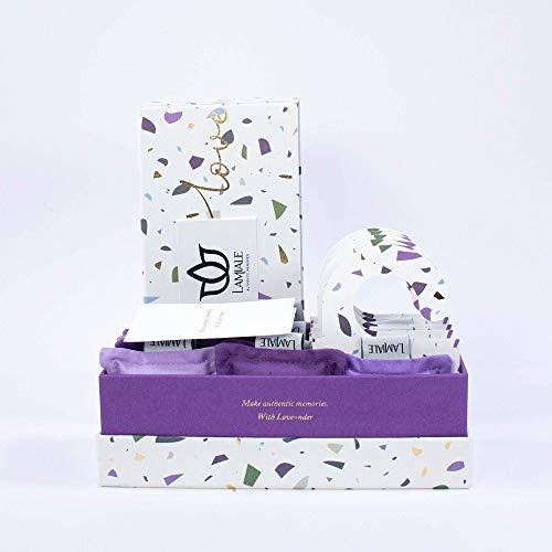 LAMIALE AUTHENTIC MEMORIES Duftkissen – Duft Säckchen mit kroatischem Lavendel, Für Schrank, Schublade, Auto & Koffer, Geruchsneutralisierer, Anti Geruch & Motten, Natur Produkt, Handgemacht - 15 Stk.