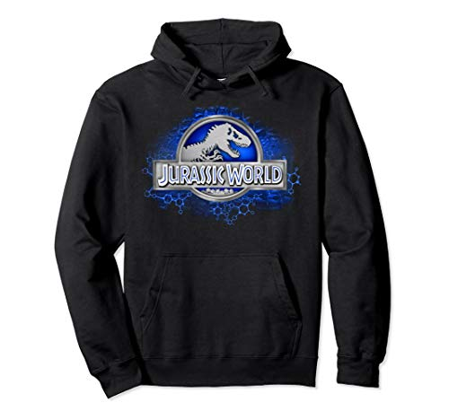 Jurassic World Gene & Chemical Logo Pullover Hoodie